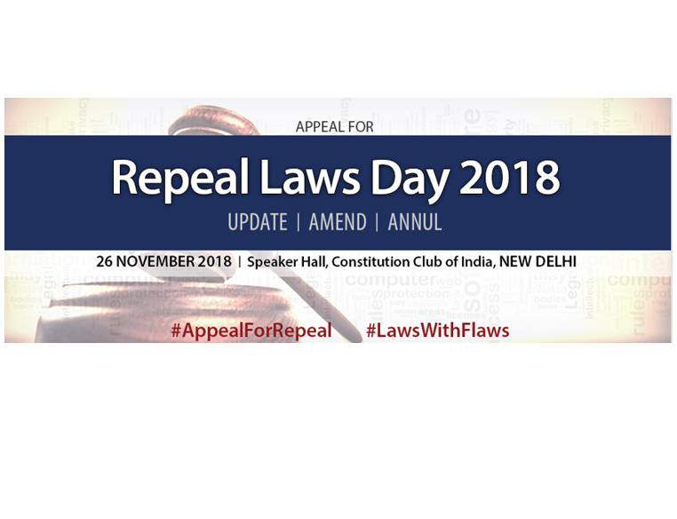 Appeal for Repeal of Laws Day 2018