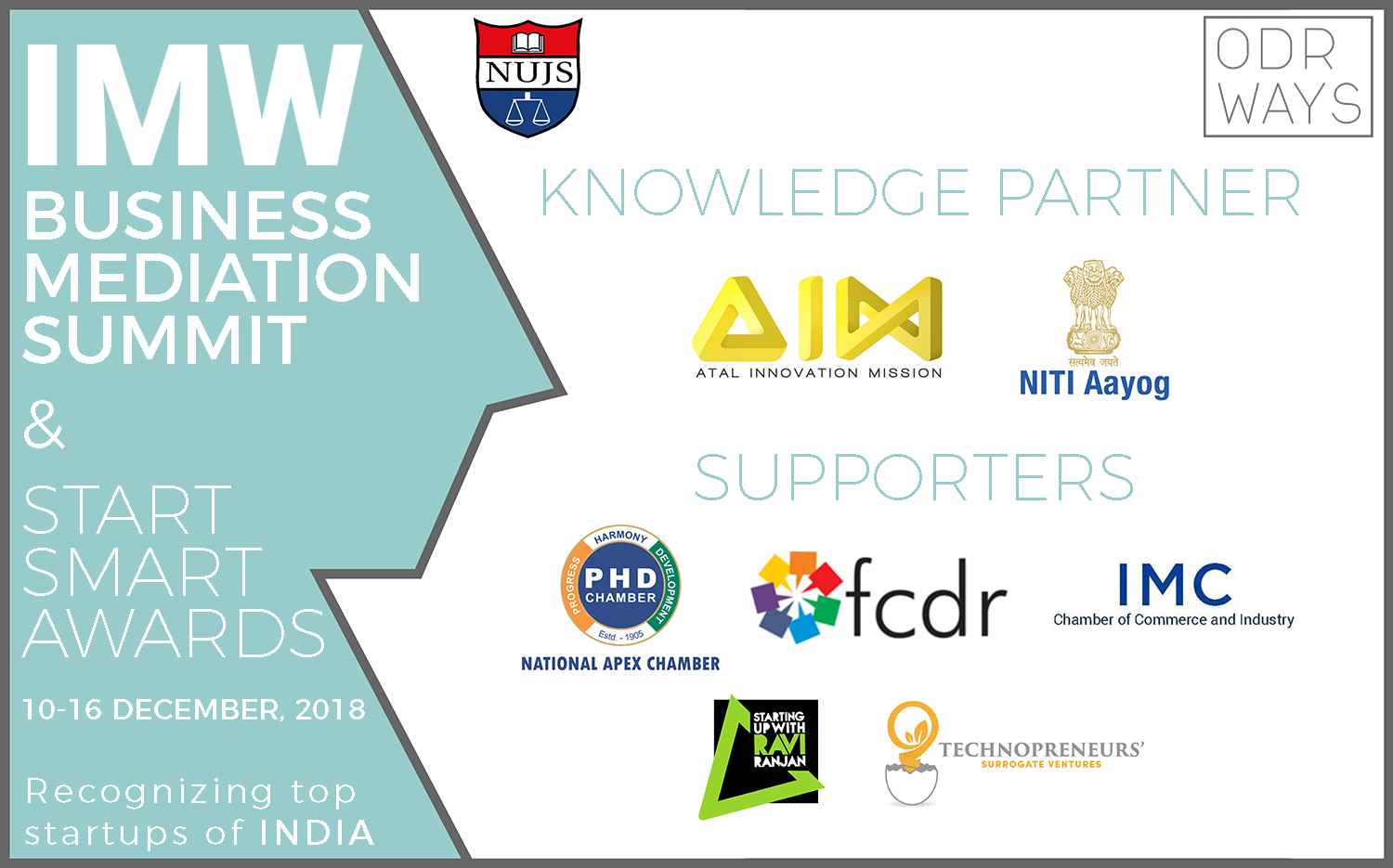 India Mediation Week NUJS Kolkata Niti Aayog