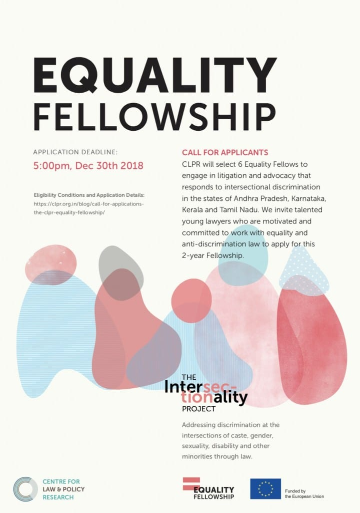 CLPR Equality fellowship
