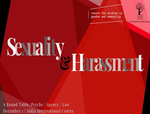 SExuality Harrassment Round Table Delhi