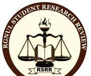 call for blogs RGNUL Student Research review
