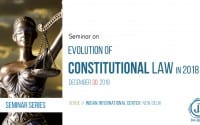 Seminar Evolution of Constitutional Law Delhi Jus Dicere