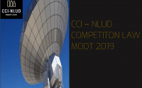 CCI NLU Delhi Competition Law Moot 2019