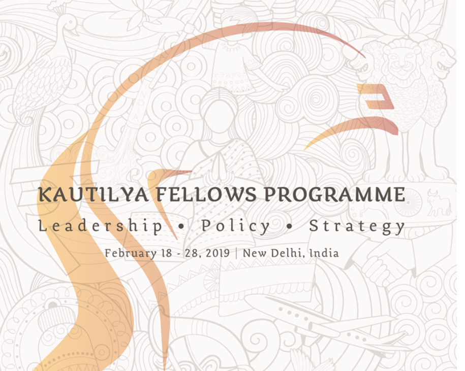 Kautilya Fellows Programme in Foreign Policyby India Foundation [Feb 18-28, Delhi]: Registrations Open