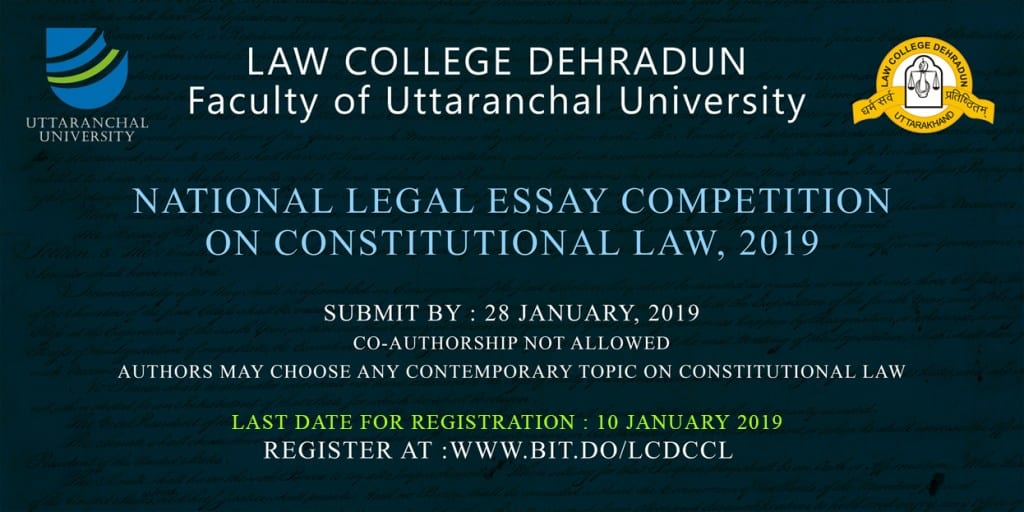 Law College Dehradun Constitutional Law Essay