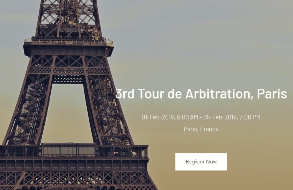 DNSLU CARDS Tour de Arbitration 2019