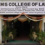 BMS Law college Bangalore Moot 2019