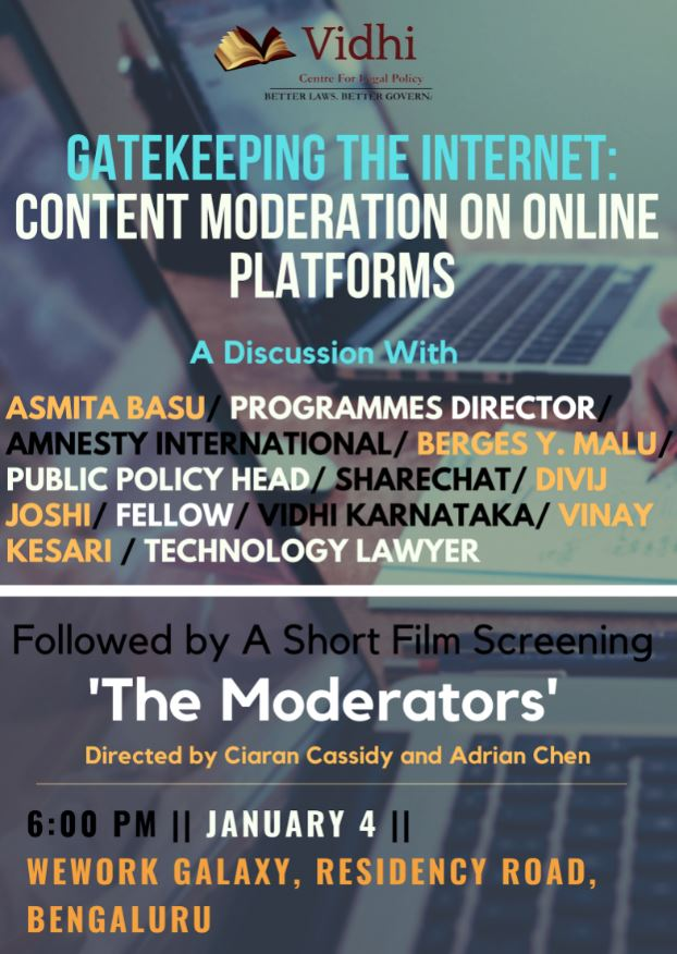 Content Moderation Poster