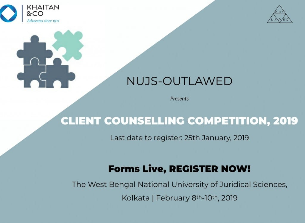 NUJS Outlawed Client Counselling competition 2019