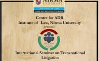 seminat transnational litigation ILNU ahmedabad