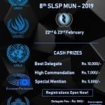 Symbiosis Law College Pune MUN 2019