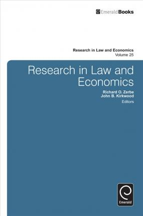 CfP for a book: Research in Law and Economics, Volume 29