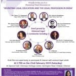 Co-draft Panel discussion legal education and profession chennai
