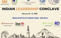 Indian Leadership conclave IIFT Delhi