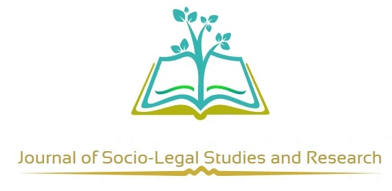 CfP: Journal of Socio-Legal Studies and Research, Volume I, Issue I