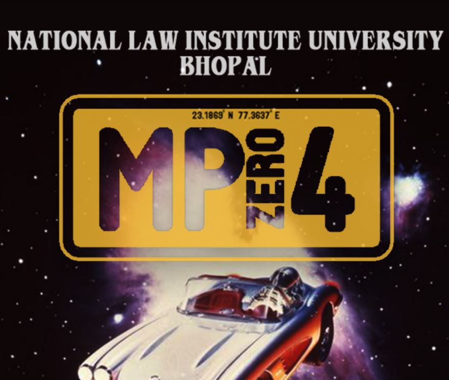 MPzero4, Cultural, Debate, Literary and Quizzing Fest @ NLIU Bhopal [March 1-3]: Registrations Open