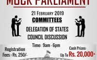 Mock parliament pravin gandhi college of law mumbai