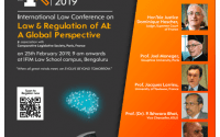 International Conference on Law & Regulation of AI by IFIM Law School, Bangalore along with Comparative Legislation Society, Paris [Feb 25]: Apply by Feb 22.
