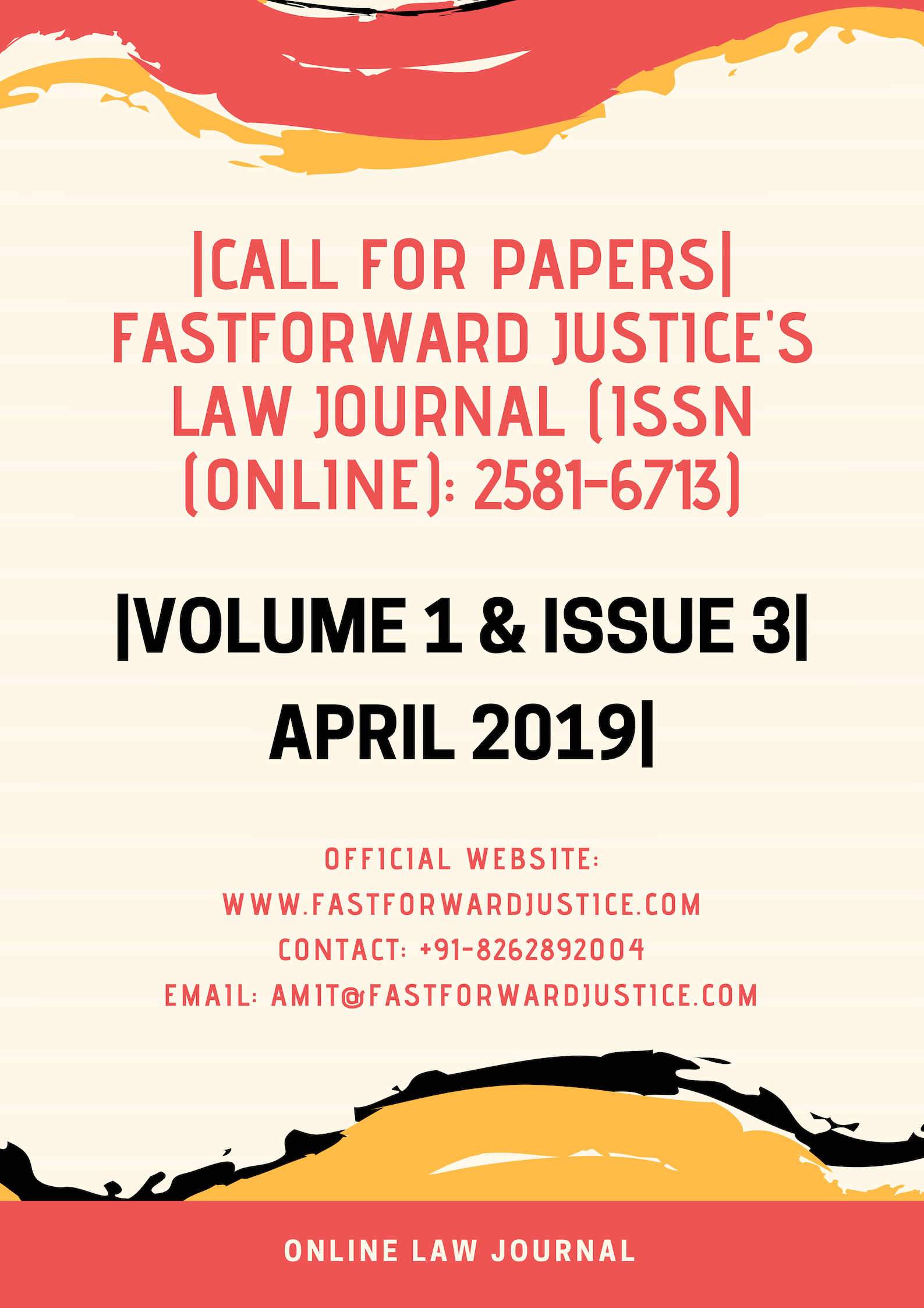 FastForward Justice's Law Journal