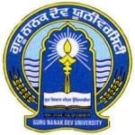 Guru Nanak Dev University legal job