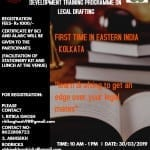 BCI ALARC Legal Drafting Course Kolkata