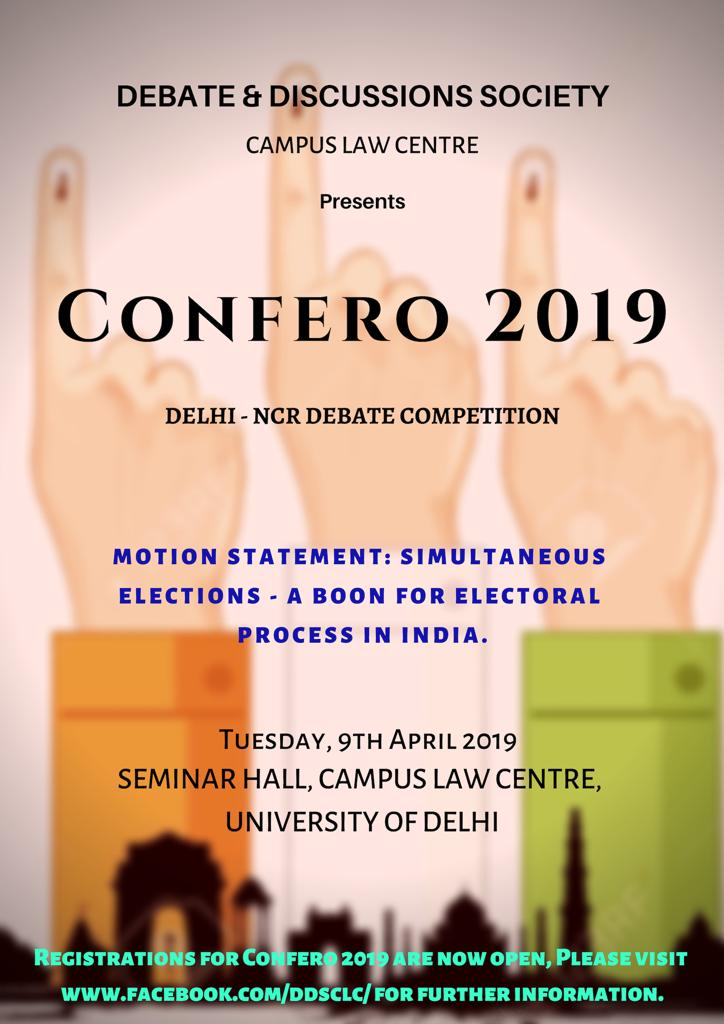 Delhi University Confero Debate