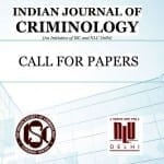 call for papers Indian journal of criminology