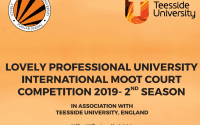 LPU Tesside University Moot 2019