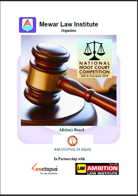 Mewar Law Institute Moot Court Competiton