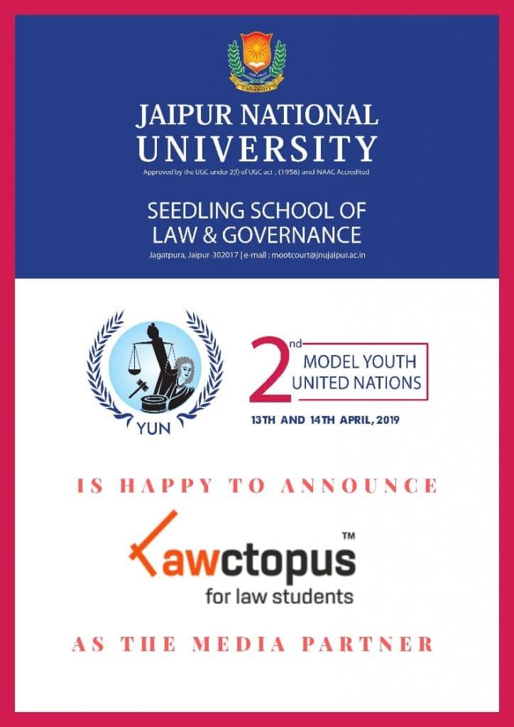 Model Youth United Nations Jaipur National University
