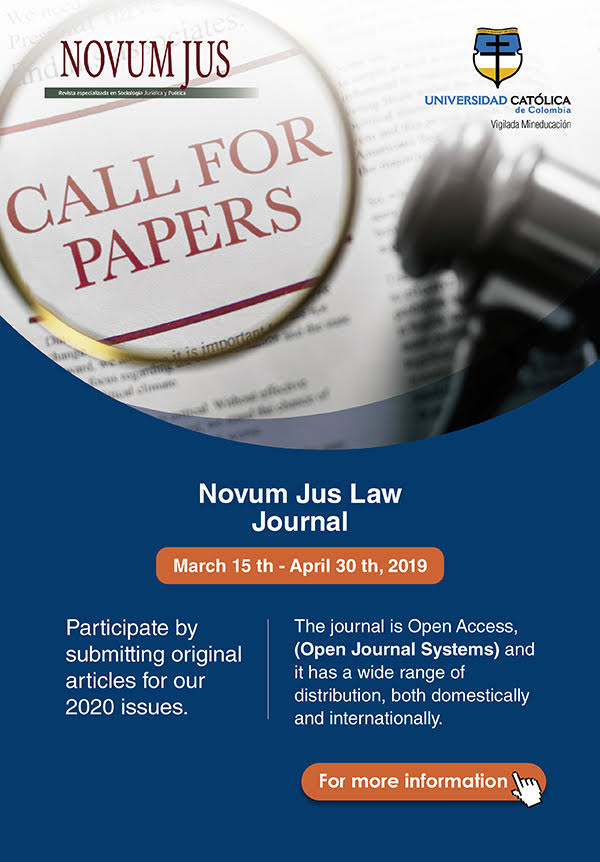 Novum Jus Law Journal