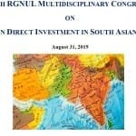 RGNUL Congress FDI in South Asia