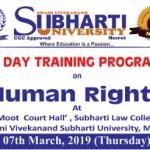TRaining Human Rights Meerut