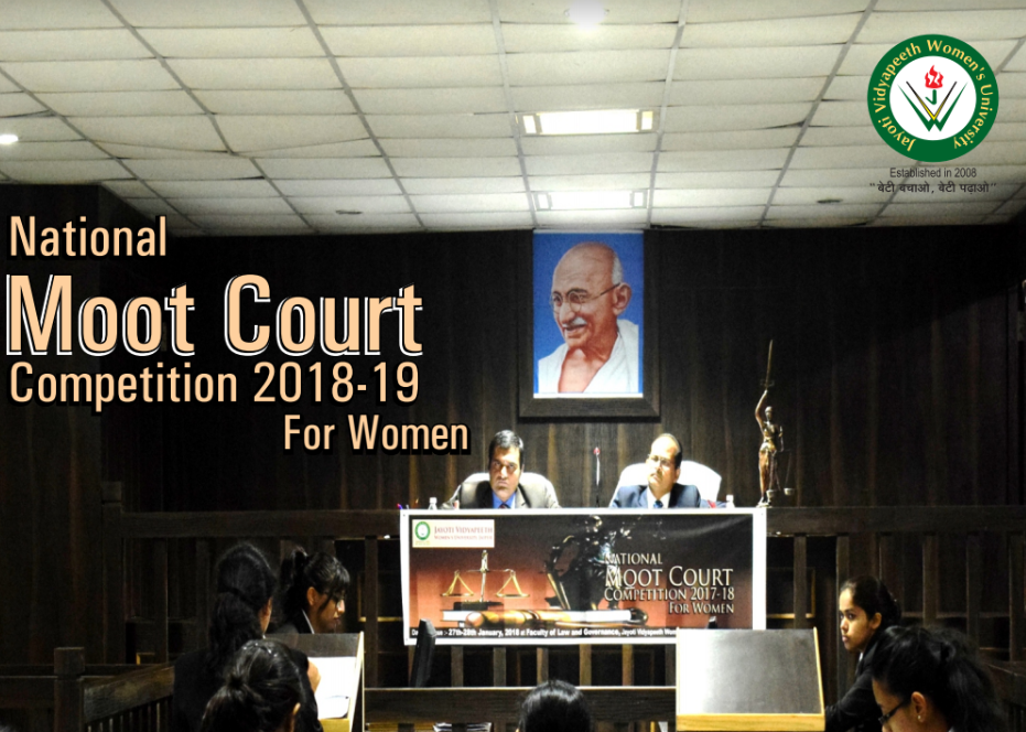 Jayoti Vidyapeeth womens moot 2019