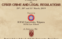 workshop Cybercrime and legal regulations ICFAI Tripura