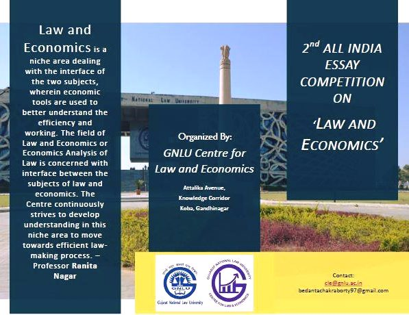 GNLU Centre for Law and Economics Essay Competition on Law and Economics