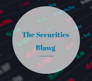 Call for Blogs: The Securities Blawg: No Publication Fee,Submissions on Rolling Basis