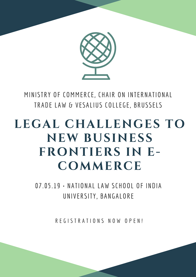 Conference on Legal challenges in E-Commerce & Trade