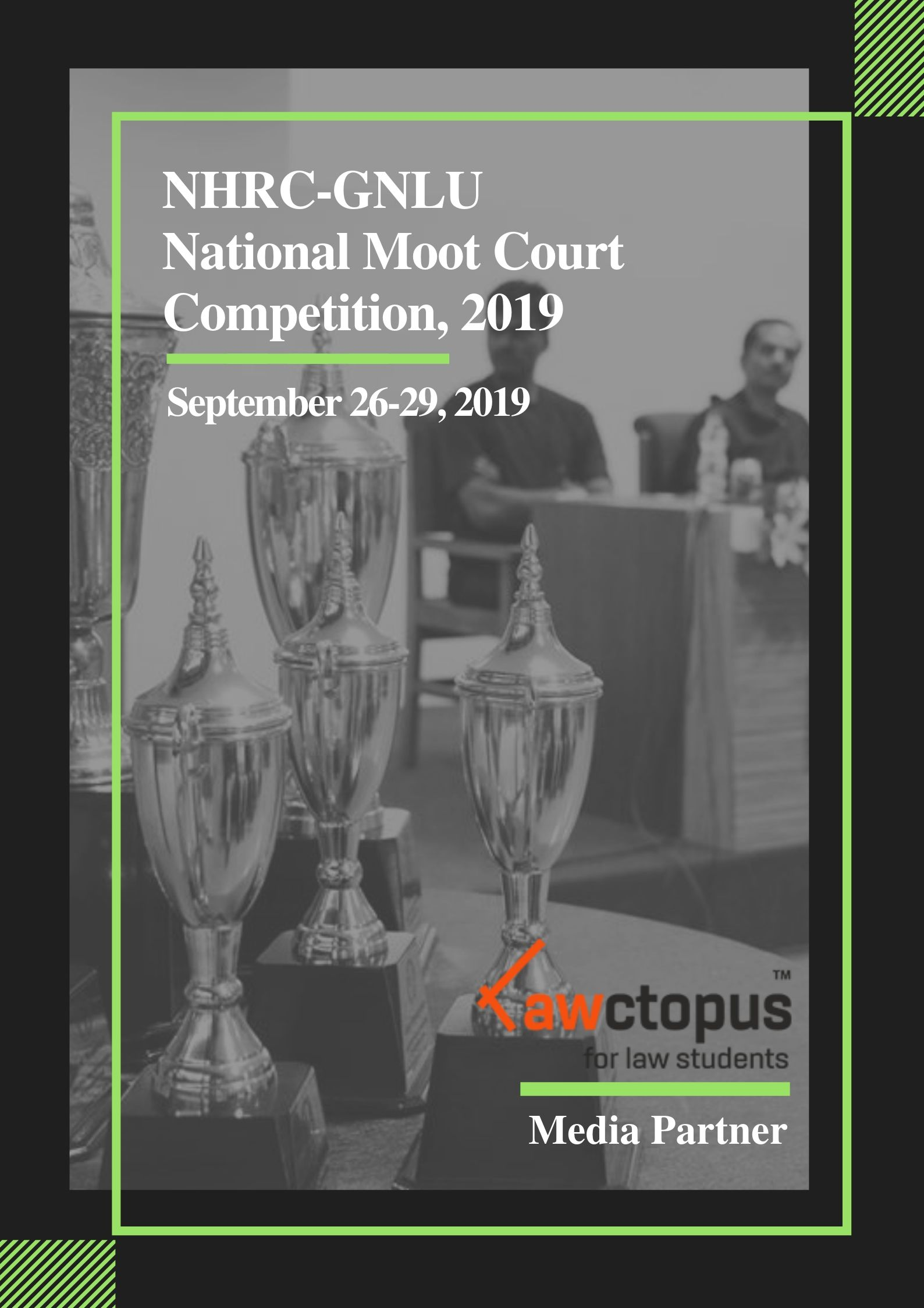 NHRC-GNLU National Moot Court Competition, 2019
