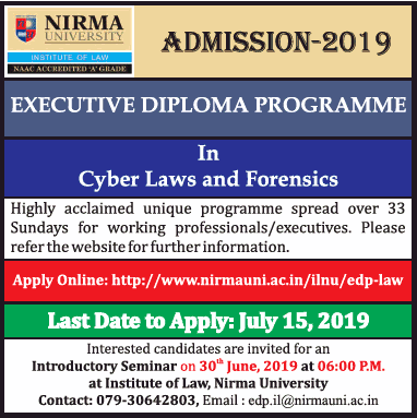 Cyber Laws and Forensics Programme
