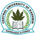 Central University of Kashmir Teaching Positions