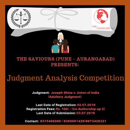 Judgment Analysis Competition by The Saviours, Pune