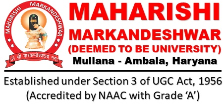 CfP: Conference on Criminal Justice System @ Maharishi Markandeshwar University, Yamuna Nagar [July 27]: Submit by July 1
