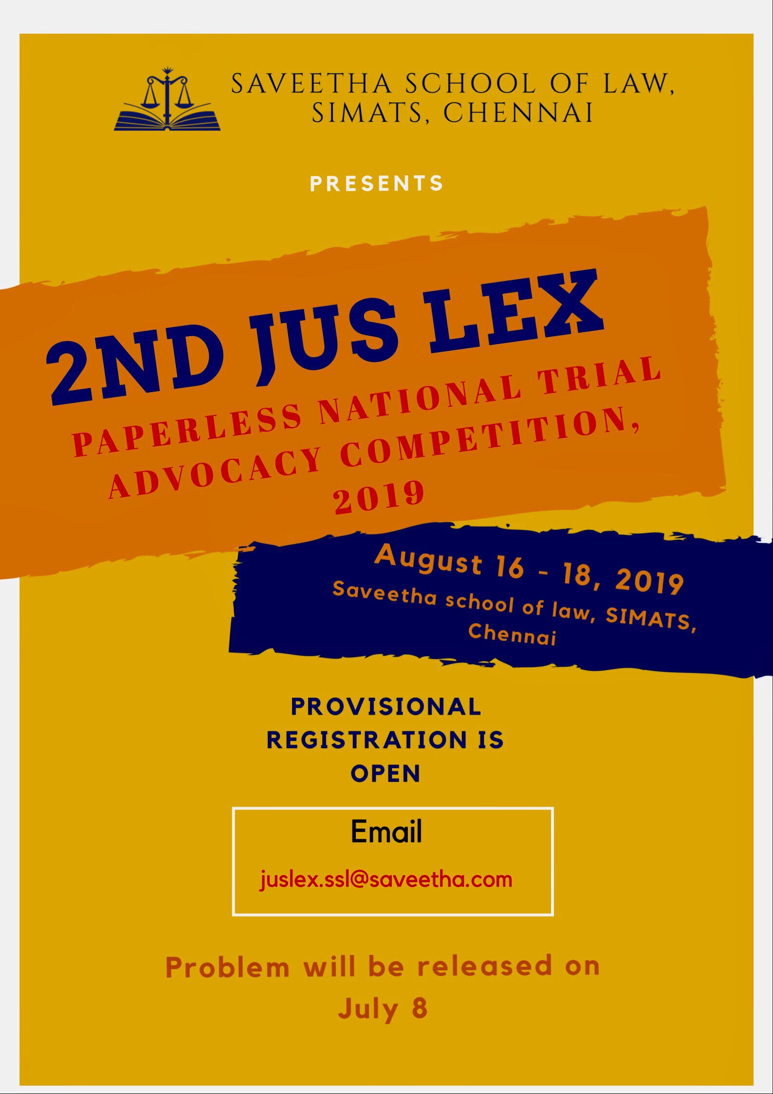 SIMATS Trial Advocacy Competition