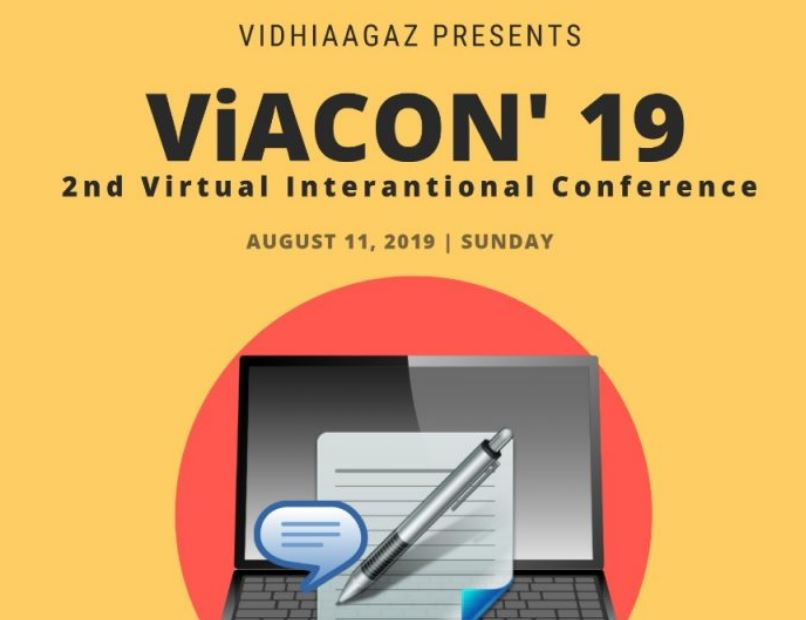 CfP: VidhiAagaz's ViACON Chapter II, International VIRTUAL Conference on Victimisation of Women [Aug 11]: Register by July 30