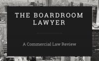 The Boardroom Lawyer