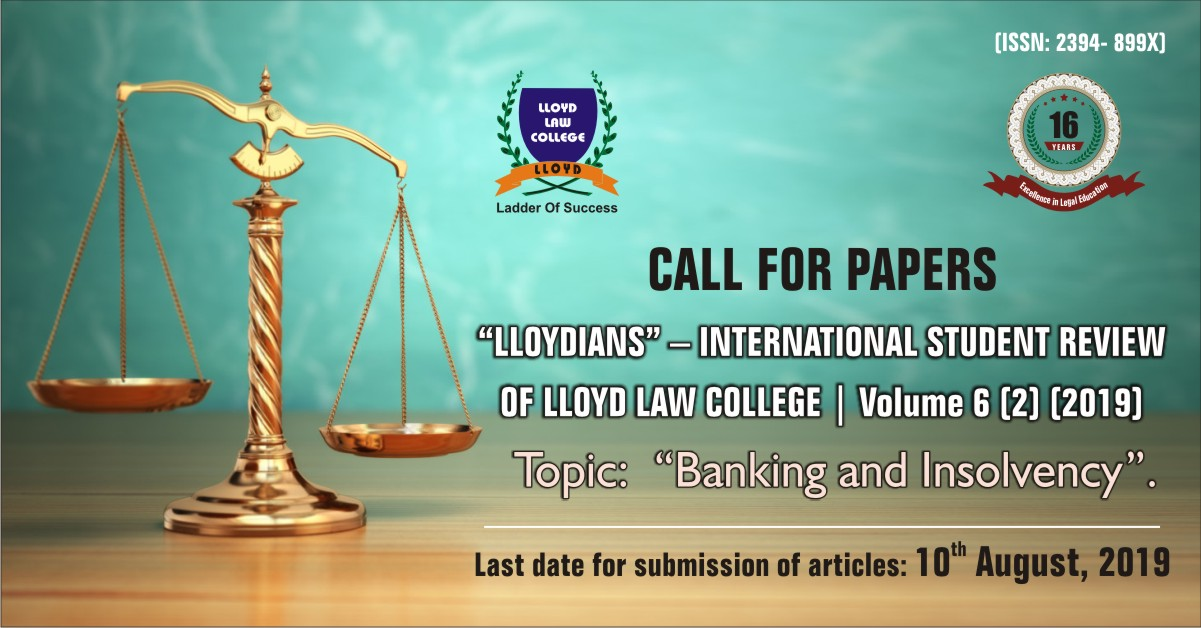Lloydians- The Student Law Review