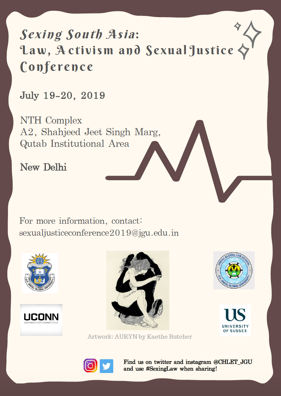 Sexing South Asia: Law, Activism and Sexual Justice Conference by Jindal Global Law School