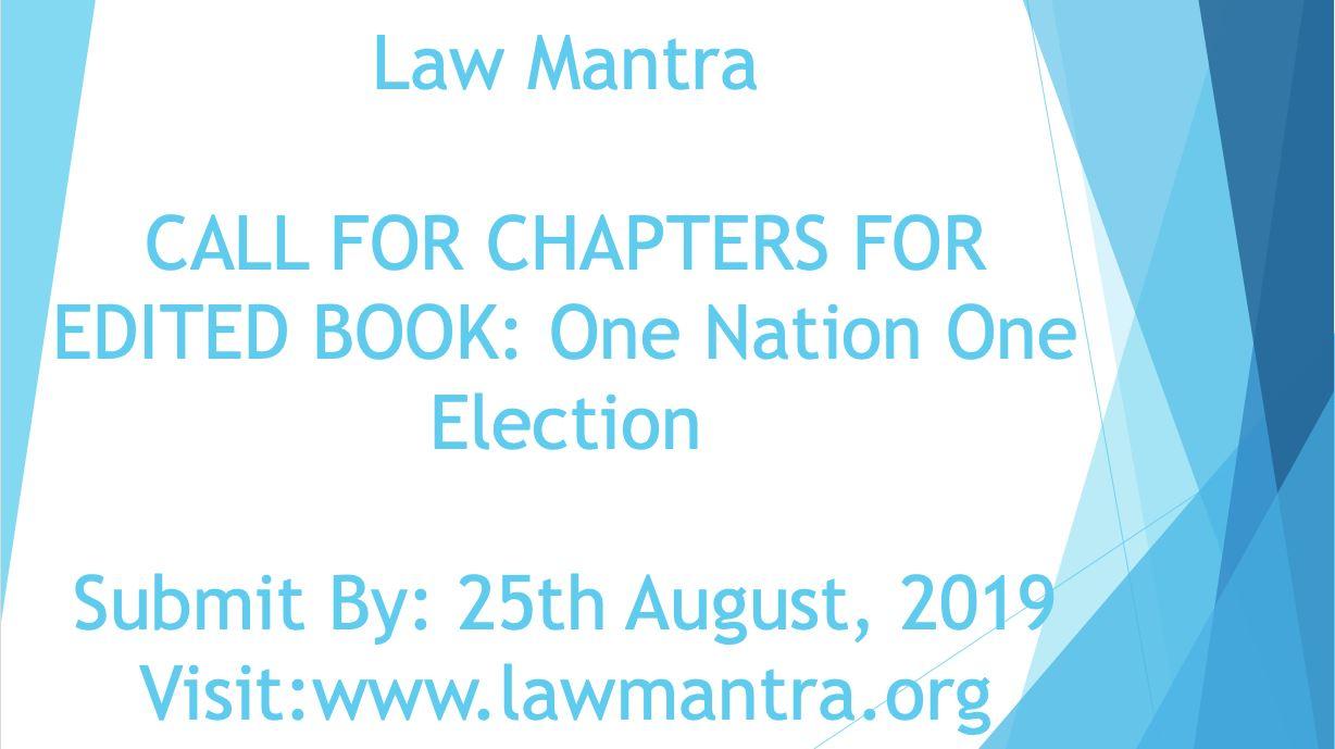 Edited Book by Law Mantra