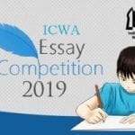 ICWA ESsay Competition 2019